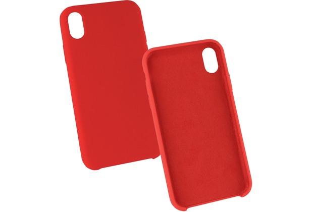 Fontastic Silikon Komplett Gefütterte Schutzhülle rot komp. mit Apple iPhone XR