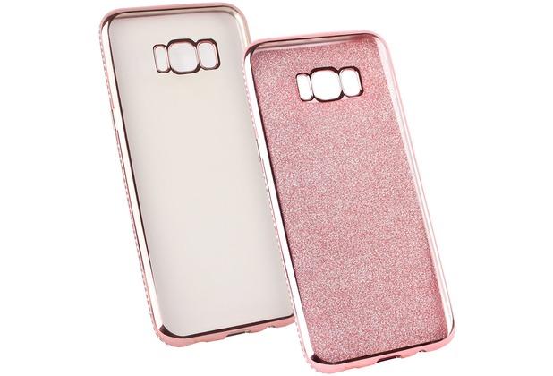 Fontastic Softcover Clear Diamond Ultrathin rosegold komp. mit Samsung Galaxy S8