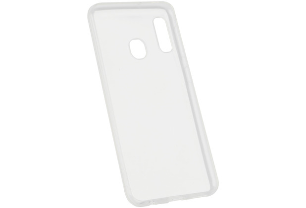Fontastic Softcover Clear Thin komp. mit Samsung Galaxy A20e