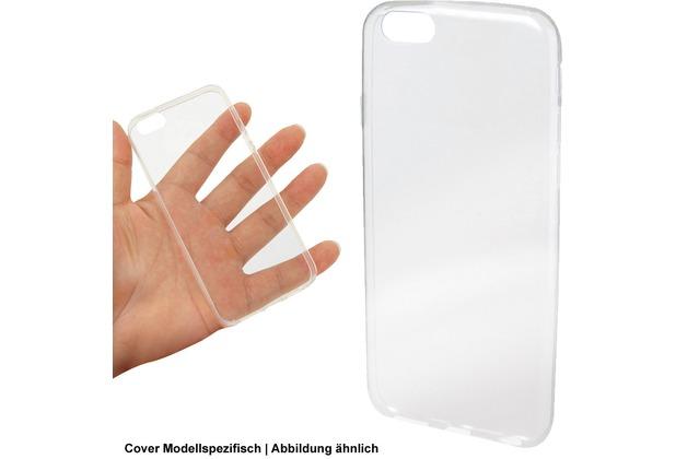 Fontastic Softcover Clear Thin komp. mit ZTE Axon 7 Mini