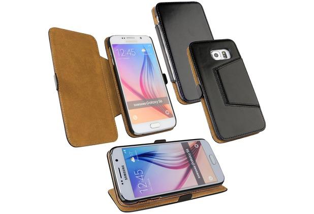Fontastic Tasche Diary schwarz für Samsung Galaxy S6