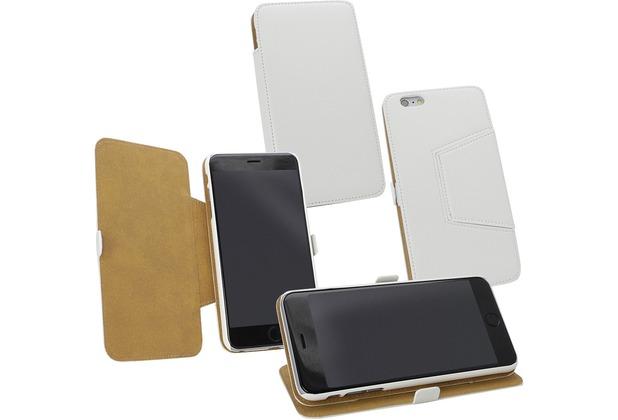 Fontastic Tasche Diary weiß für Apple iPhone 6+/6s+