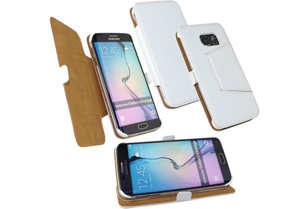 Fontastic Tasche Diary weiß für Samsung Galaxy S6 Edge