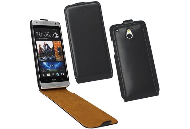 Fontastic Tasche Flip schwarz für HTC One Mini