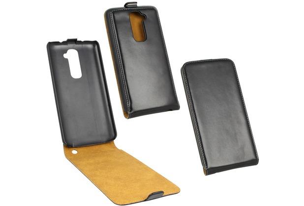 Fontastic Tasche Flip schwarz für LG Optimus G2