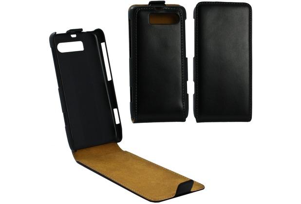 Fontastic Tasche Flip schwarz für Motorola Razr i