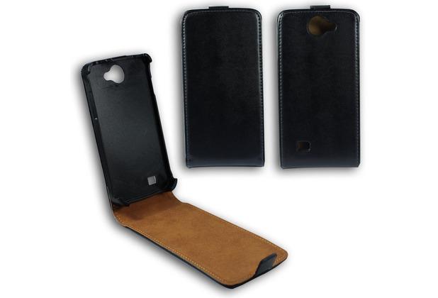 Fontastic Tasche Flip schwarz für Samsung Galaxy W