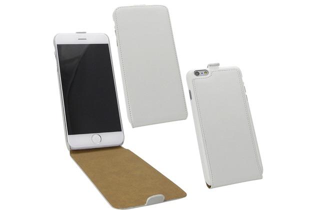 Fontastic Tasche Flip weiß für Apple iPhone 6/6s