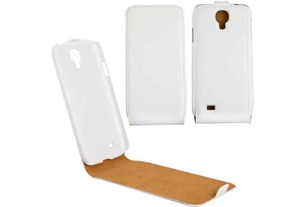 Fontastic Tasche Flip weiß für Samsung Galaxy S4