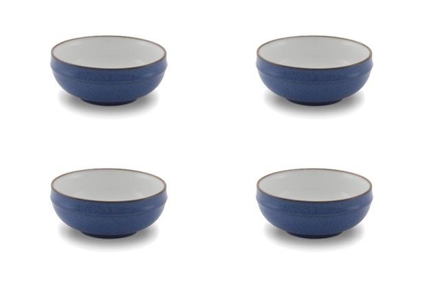 Friesland 4er Set Dessertschale, Ammerland, Friesland, 12 cm, 4 tlg., 4 Personen Blue