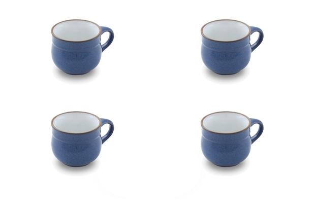 Friesland 4er Set Kaffee-Obertasse, Ammerland, Friesland, 0,18l, 4 teilig, 4 Personen Blue
