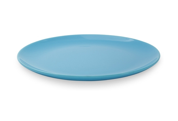 Friesland 4er Set Speiseteller, Happymix, Friesland, 25 cm Azurblau