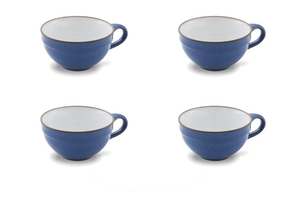 Friesland 4er Set Tee-Obertasse, Ammerland, Friesland, 0,22l, 4 tlg., 4 Personen Blue
