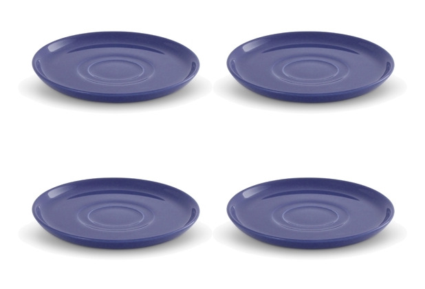 Friesland 4er Set Untertasse Blau, Happymix, Friesland, 15 cm Blau