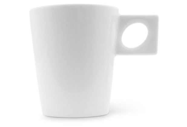 Friesland Becher 0,3l NYNY Weiß Walküre Porzellan