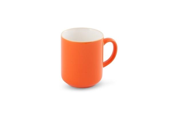 Friesland Becher innen Weiß, Happymix, Friesland, 0,4l Orange