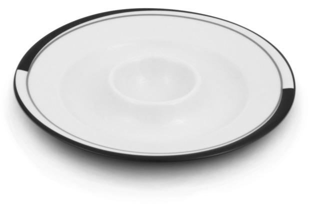 Friesland Eierbecher Black & White, La Belle, Friesland, 13 cm Black & White
