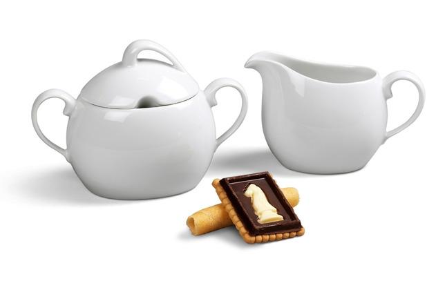 Friesland Ergänzungs-Set Kaffee / Tee, La Belle, Friesland, 2 tlg. weiß