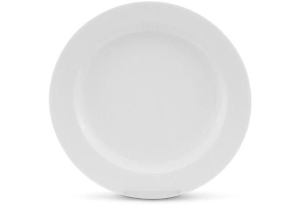 Friesland Frühstücksteller, 20,5cmØ NYNY Weiß Walküre Porzellan
