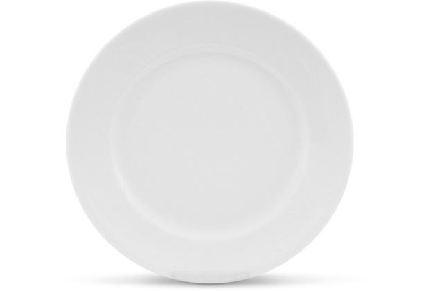Friesland Frühstücksteller, 20cmØ Classic Weiß Walküre Porzellan