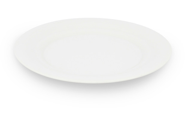 Friesland Frühstücksteller 21cm Ø Horizont Weiß