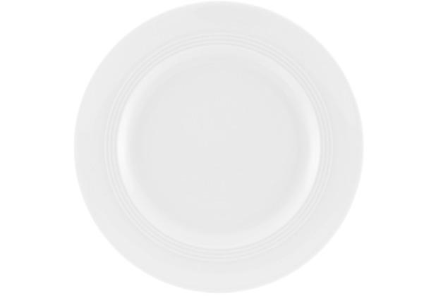 Friesland Frühstücksteller, Jeverland, Friesland, 20 cm weiß