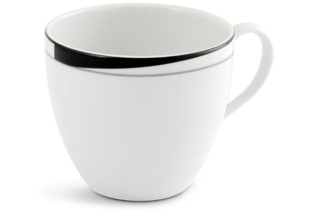 Friesland Kaffee- Obertasse, La Belle, Friesland, 0,20l Black & White