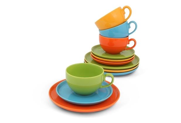 Friesland Happymix Kaffee-Set 12-teilig Bunt