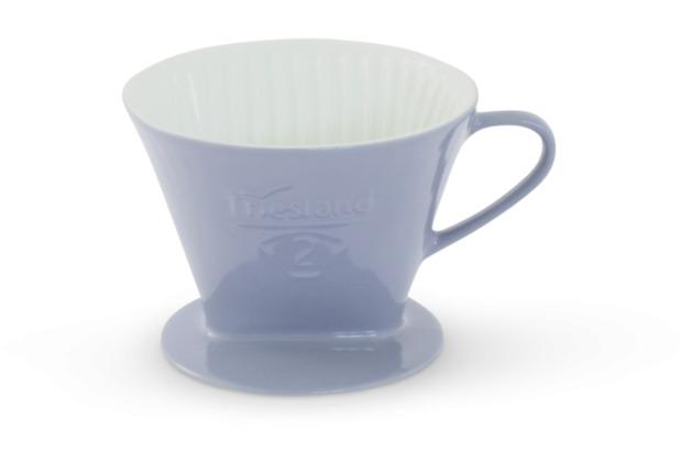 Friesland Kaffeefilter Gr. 2 Steingrau Porzellan