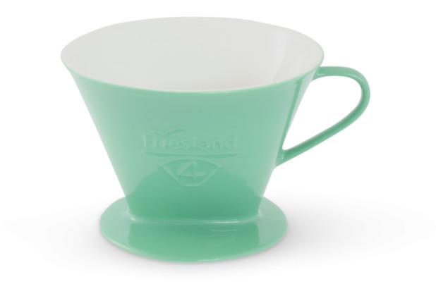 Friesland Kaffeefilter Gr. 4 Jadegrün Porzellan