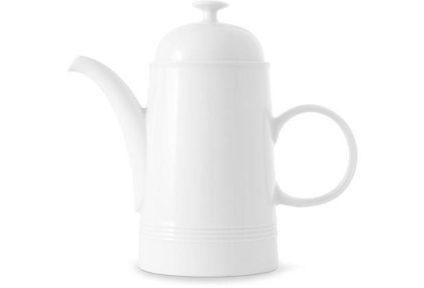 Friesland Kaffeekanne, Jeverland, Friesland, 1,2l weiß