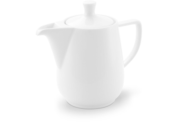 Friesland Kaffeekanne Porzellan 0,6l , weiß