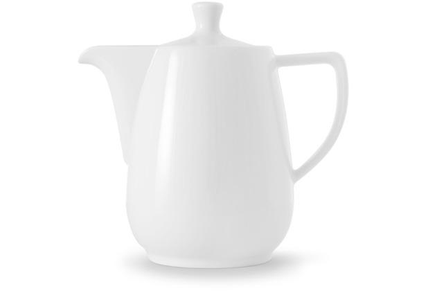 Friesland Kaffeekanne Porzellan 1,4l , weiß