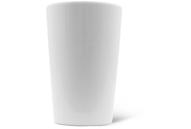 Friesland Milchbecher, 0,33l Classic Weiß Walküre Porzellan