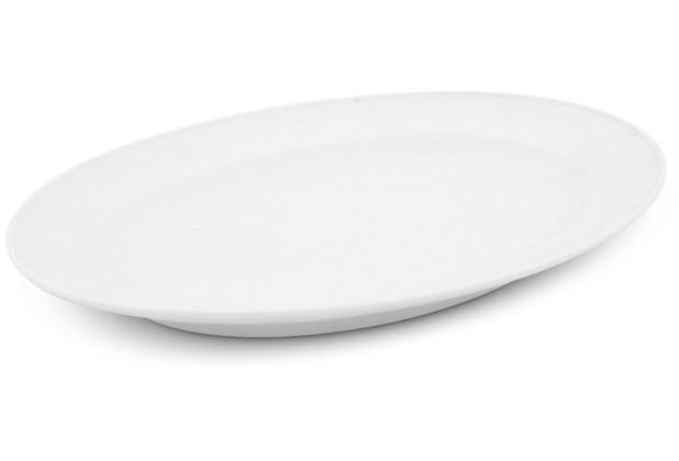 Friesland Platte oval, 26,5cm Buffet Weiß Walküre Porzellan