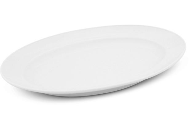 Friesland Platte oval, 30,5cm Buffet Weiß Walküre Porzellan
