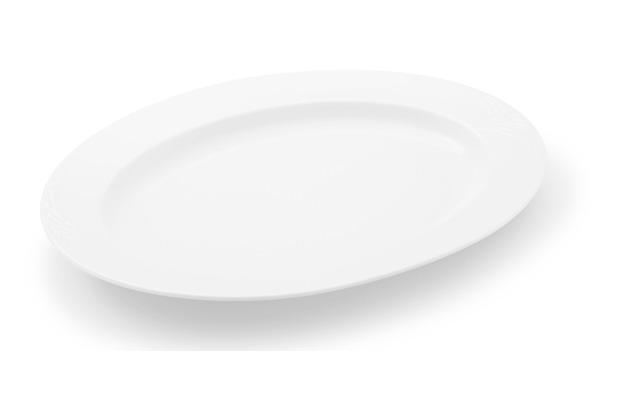 Friesland Platte, oval, Bel Air, Friesland, 32 cm weiß