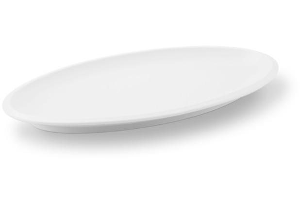 Friesland Platte, oval, Ecco, Friesland, 33 cm weiß
