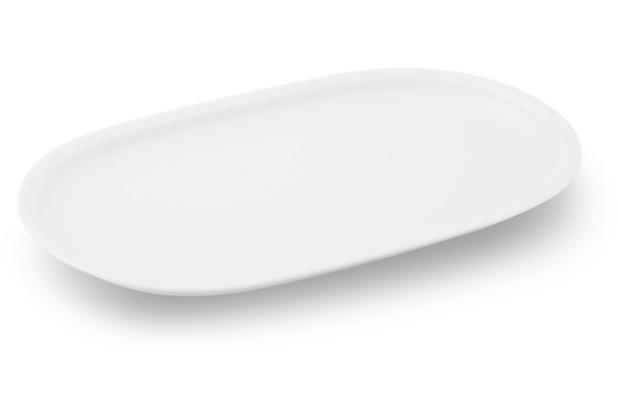 Friesland Platte, oval, Venice, Friesland, 30 cm weiß