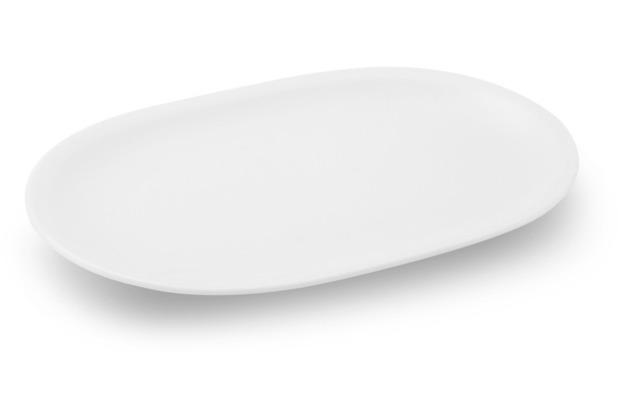 Friesland Platte/ Untert. Sauciere, oval, Venice, Friesland, 22 cm weiß