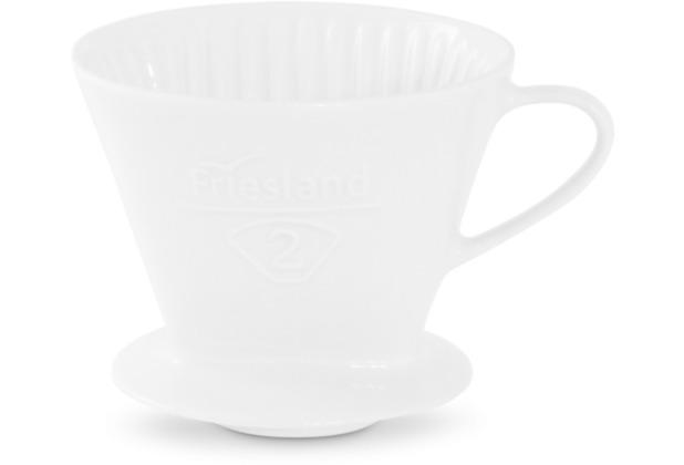 Friesland Kaffeefilter Gr. 2 Weiß Porzellan