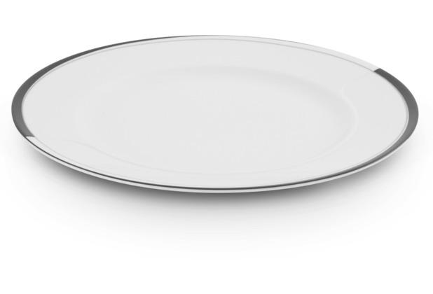 Friesland Speiseteller Black & White, La Belle, Friesland, 27 cm Black & White