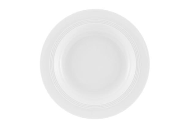 Friesland Suppenteller, Jeverland, Friesland, 23 cm weiß