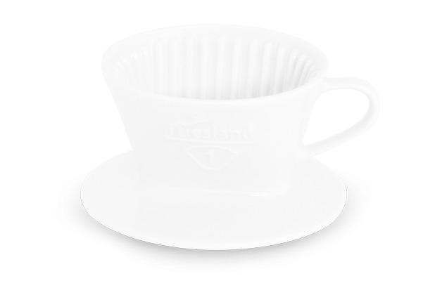 Friesland Tassenfilter, Kannen & Kaffeefilter, Friesland, 100 weiß