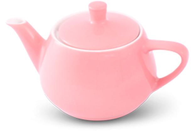 Friesland Teekanne 0,35l Pastellrosa Utah Teapot Porzellan