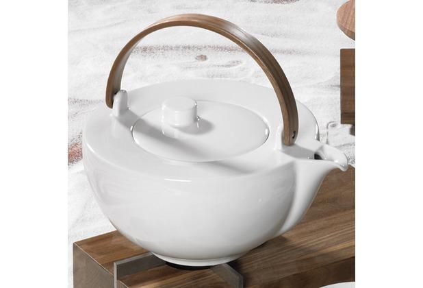 Friesland Teekanne 1,0l Chai, weiß