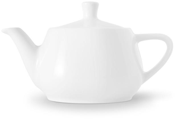 Friesland Teekanne Porzellan 0310, weiß