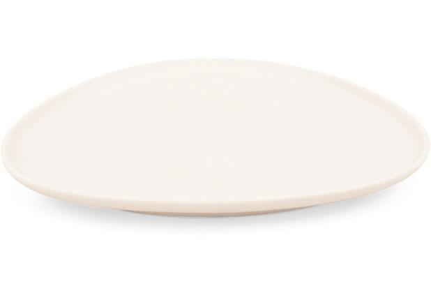 Friesland Teller dreieckig, 23 x 17cm NYNY Elfenbein Walküre Porzellan