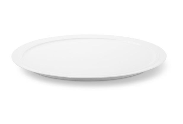 Friesland Tortenplatte, Jeverland, Friesland, 32 cm weiß