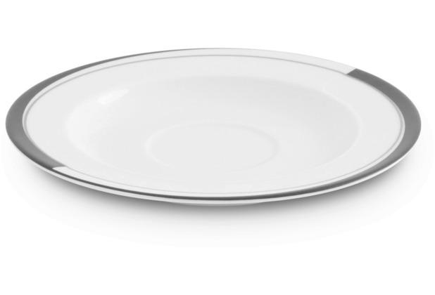 Friesland Untertasse, La Belle, Friesland, 15,5 cm Black & White